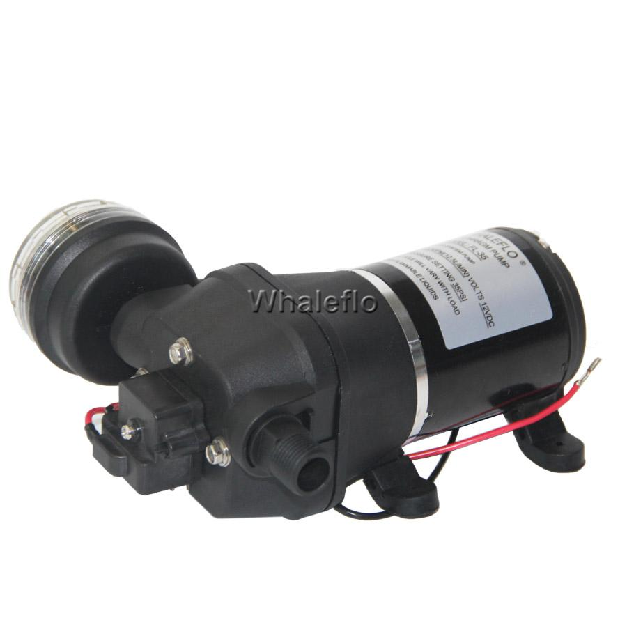 whaleflo 12.5lpm water pump