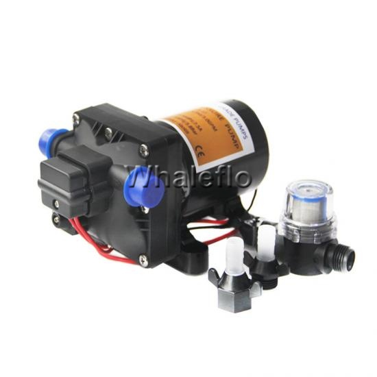 Whaleflo 4 chamber diaphragm pump series