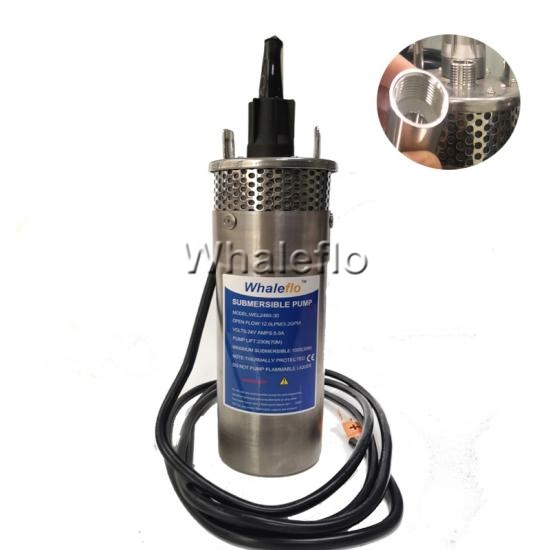 Whaleflo 12 volt submersible water pump