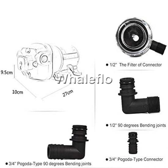 Whaleflo marine fresh water pump